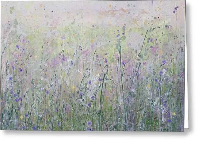 Buttercups And Bluebells Greeting Card