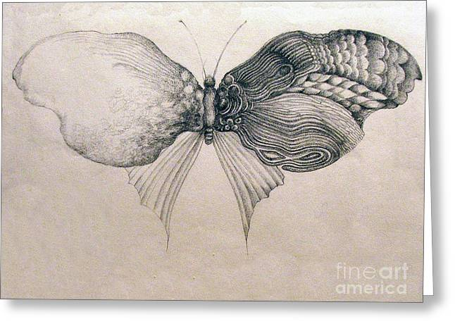 Butterfly For Jeffrey Greeting Card