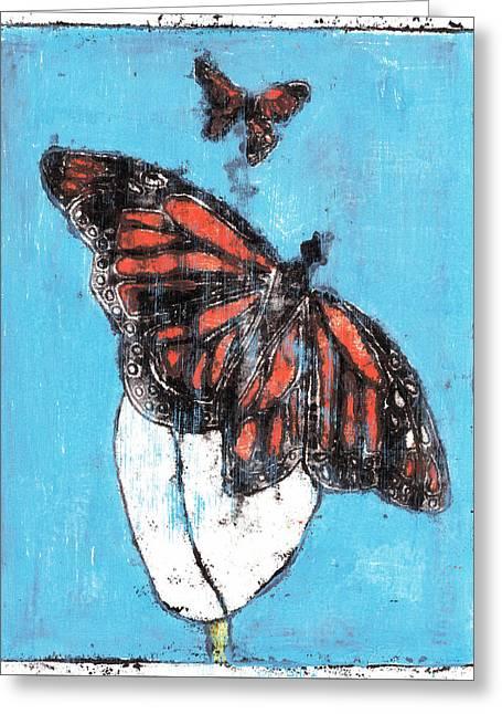 Butterfly Garden Summer 1 Greeting Card