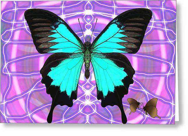 Butterfly Patterns 19 Greeting Card