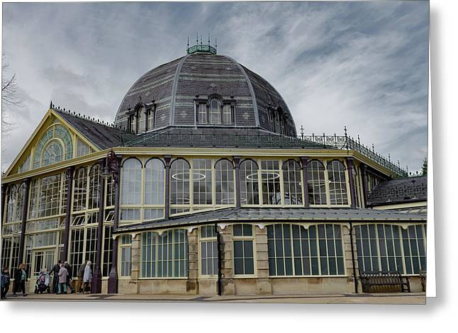 Buxton Octagon Hall At The Pavilion Gardens Greeting Card