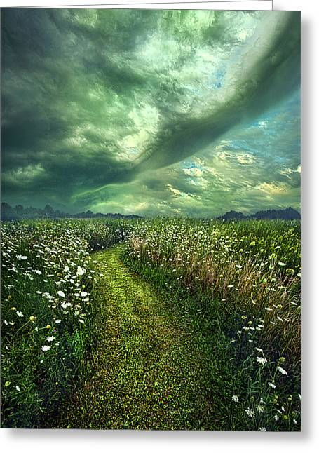 Greeting Card featuring the photograph By The By by Phil Koch