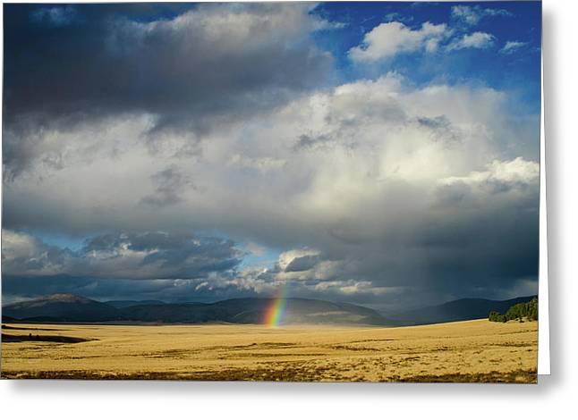 Caldera Rainbow Greeting Card