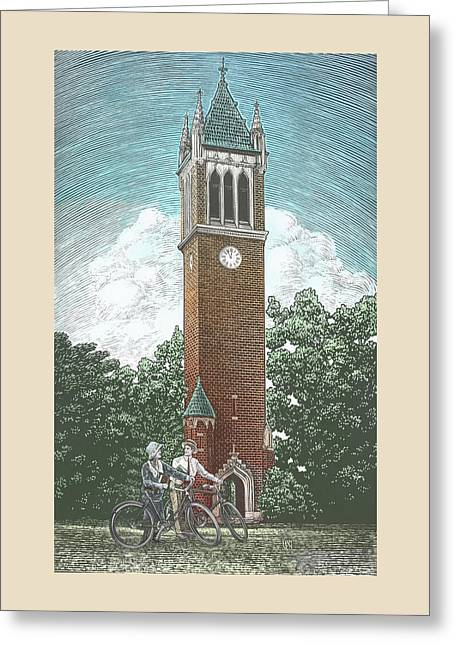 Campanile 1928 Greeting Card