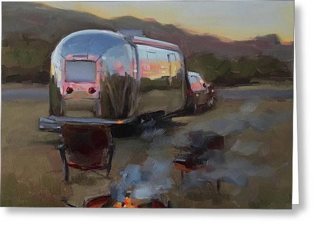 Campfire At Palo Duro Greeting Card