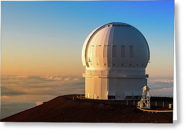 Canada-france-hawaii Telescope Greeting Card
