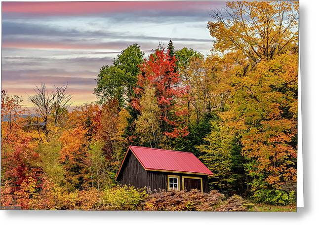 Canadian Autumn Greeting Card
