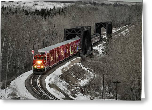 Canadian Pacific Holiday Train 2018 I Greeting Card