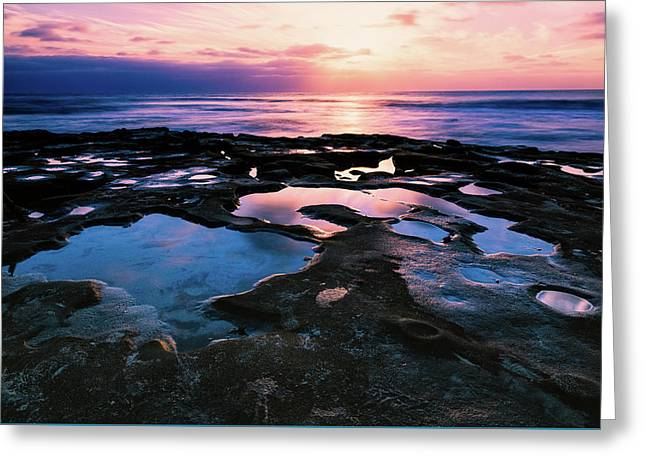 Candy Colored Pools Greeting Card