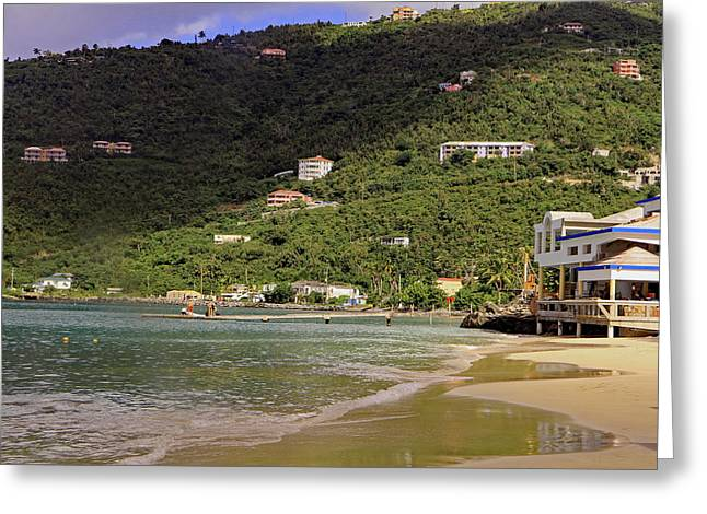 Greeting Card featuring the photograph Cane Garden Bay by Tony Murtagh