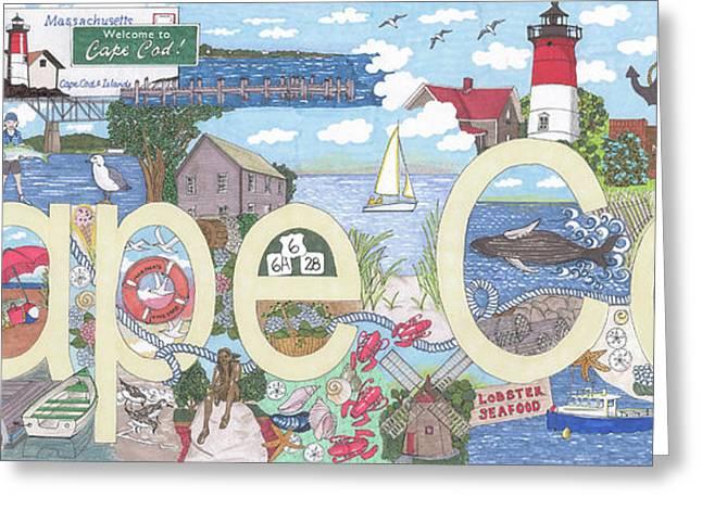 Cape Cod Greeting Card