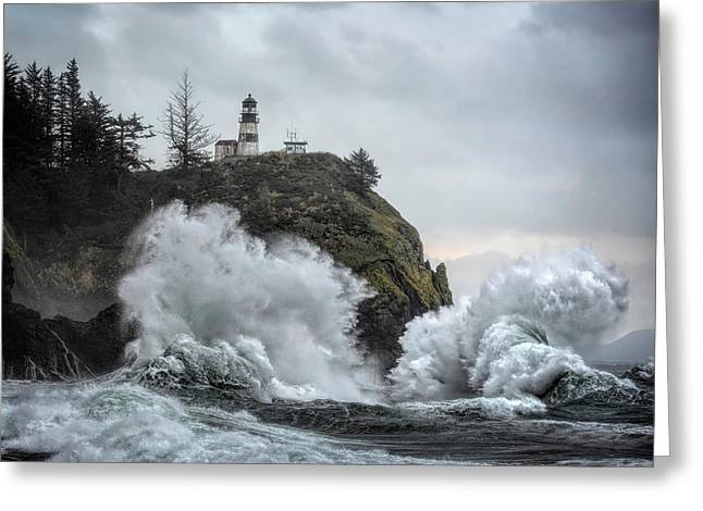 Cape Disappointment Chaos Greeting Card