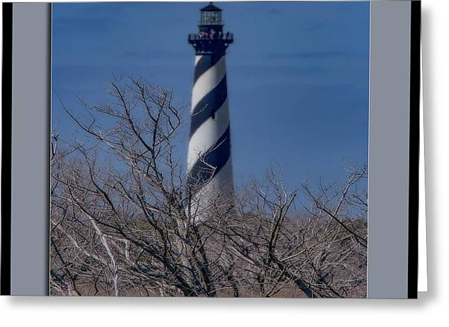 Greeting Card featuring the photograph Cape Hatteras Lighthouse by Pete Federico