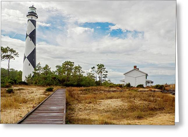 Cape Lookout Lighthouse No. 2 Greeting Card