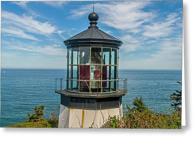 Cape Mereas Light Greeting Card