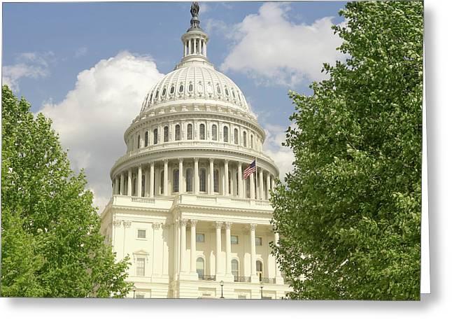 Capitol Building Washington Dc 2  Greeting Card
