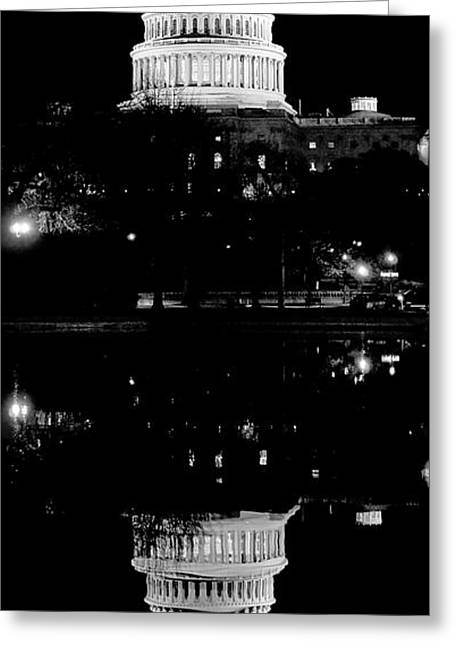 Capitol Upside Down Greeting Card