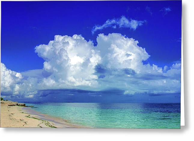 Caribbean Clouds Greeting Card