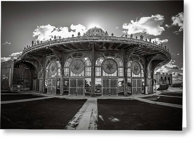 Greeting Card featuring the photograph Carousel House by Steve Stanger
