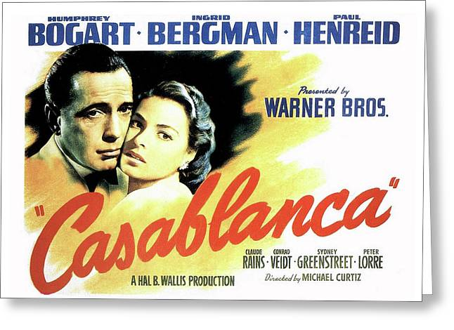 Casablanca Greeting Card