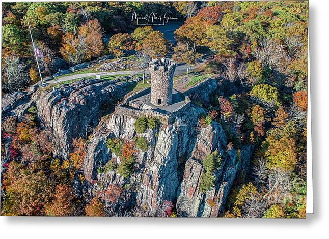 Greeting Card featuring the photograph Castle Craig by Michael Hughes