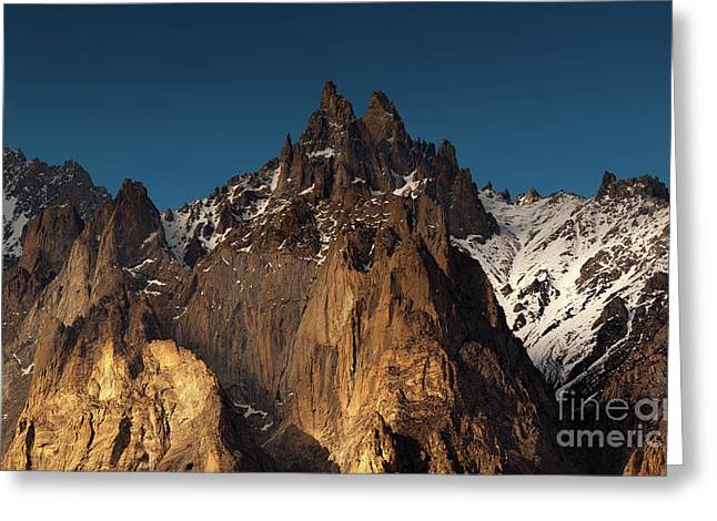 Cathedral Of Passu Greeting Card