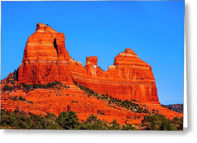 Cathedral Rock Greeting Card by Fernando Margolles