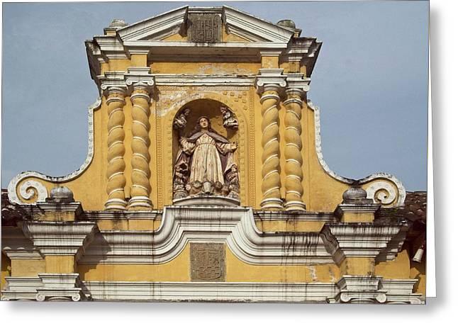 Catholic Church Top Guatemala Greeting Card