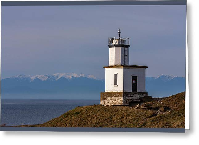 Cattle Point Lighthouse Greeting Card