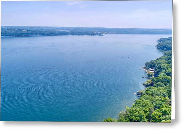 Cayuga From Above Greeting Card
