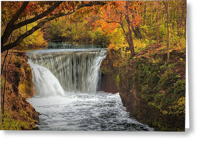 Cedarville Falls Greeting Card