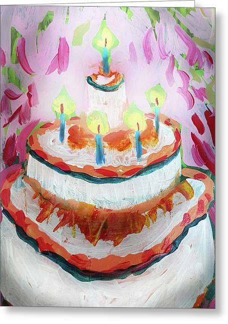 Celebration Cake Greeting Card