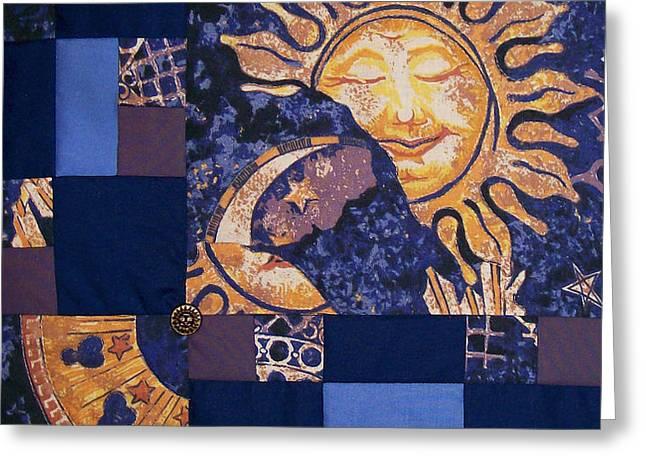 Celestial Slumber Greeting Card