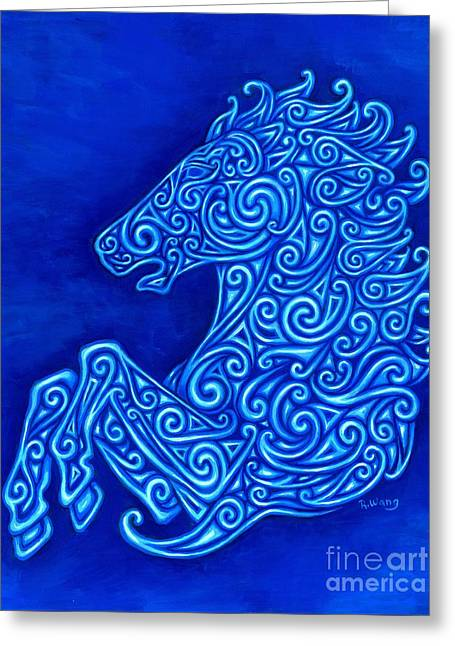Celtic Horse Greeting Card