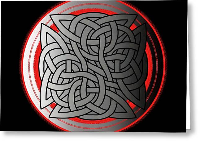 Celtic Shield Knot 4 Greeting Card