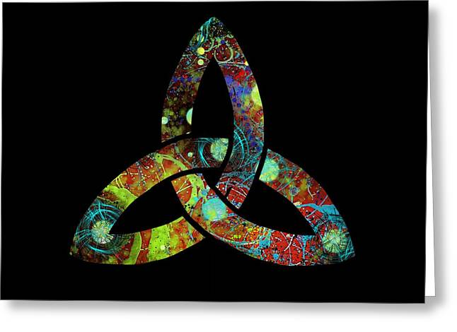 Celtic Triquetra Or Trinity Knot Symbol 1 Greeting Card