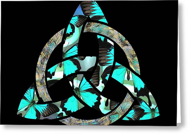 Celtic Triquetra Or Trinity Knot Symbol 2 Greeting Card