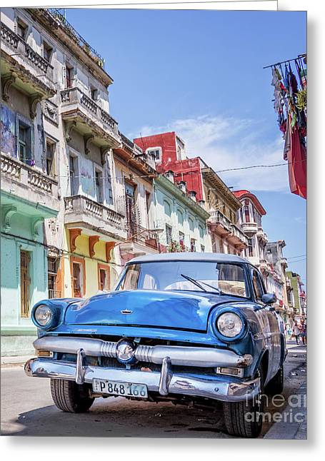 Centro Habana - Vertical Greeting Card