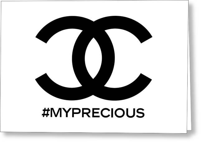 Chanel My Precious-1 Greeting Card