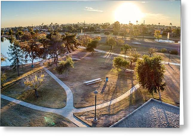 Chaparral Park Greeting Card