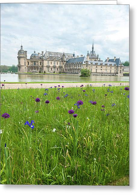 Chateau De Chantilly, Chantilly, France Greeting Card by Lisa S. Engelbrecht