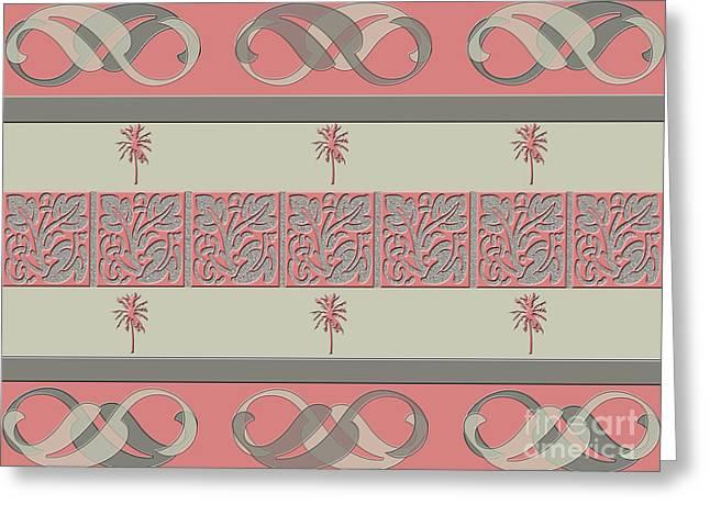 Cheery Coral Pink Greeting Card