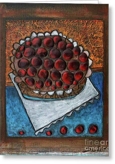 Cherry Pie Greeting Card