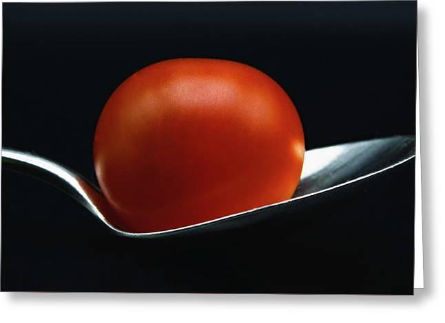 Cherry Tomato Greeting Card