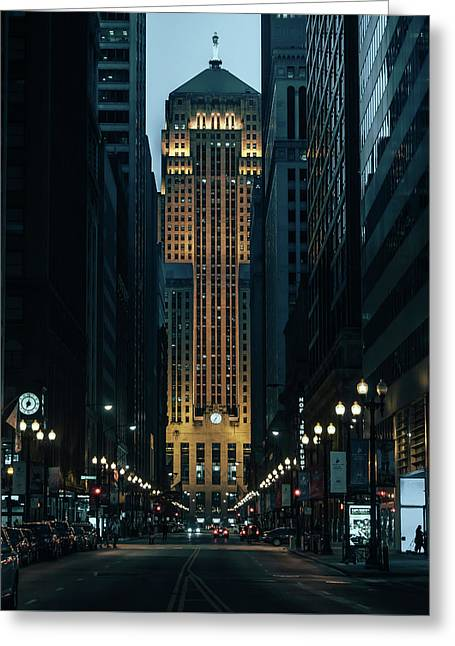 Chicago Board Of Trade Greeting Card