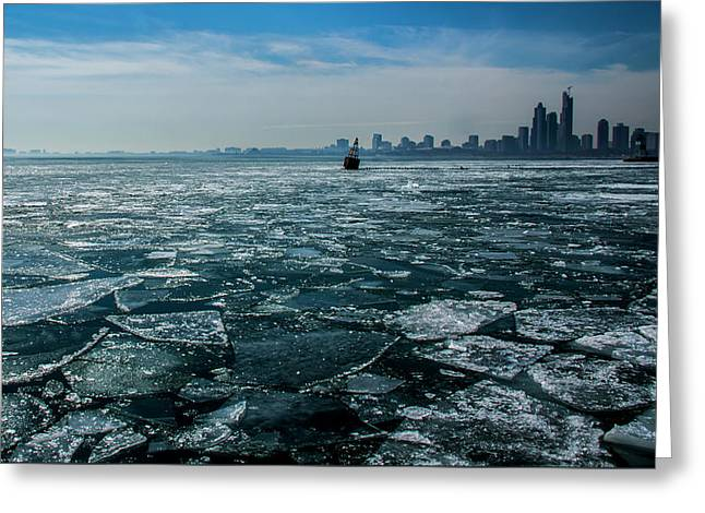 Chicago From Navy Pier 2 Greeting Card