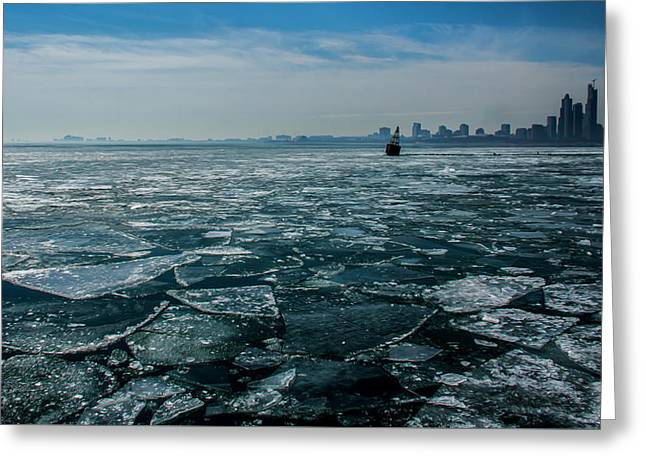 Chicago In Winter Greeting Card