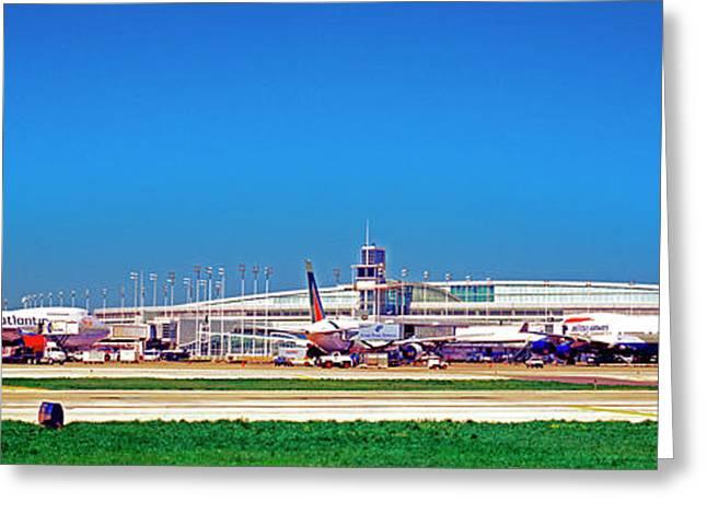 Chicago, International, Terminal Greeting Card