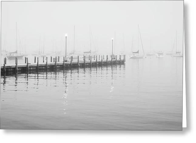 Chicago Monroe Harbor Pier Greeting Card