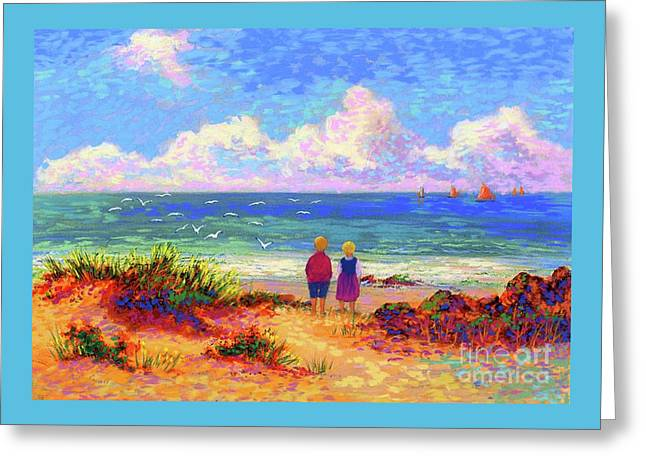 Children Of The Sea Greeting Card